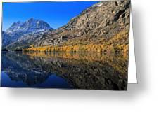 Autumn At Silver Lake Greeting Card