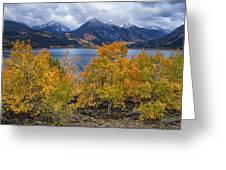 Autumn At Twin Lakes Greeting Card