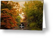 Autumn Attraction Greeting Card
