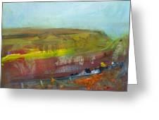 Autumn Bog Greeting Card