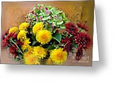 Autumn Boquet I Greeting Card