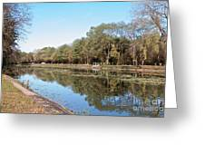 Autumn By The Erie Canal Greeting Card