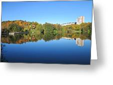 Autumn By The Lake 3 Greeting Card