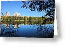 Autumn By The Lake 6 Greeting Card