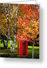Autumn Call Greeting Card