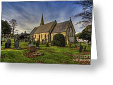 Autumn Church Greeting Card