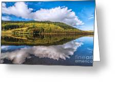 Autumn Clouds Greeting Card