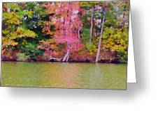 Autumn Color In Norfolk Botanical Garden 1 Greeting Card
