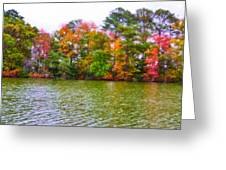 Autumn Color In Norfolk Botanical Garden 3 Greeting Card