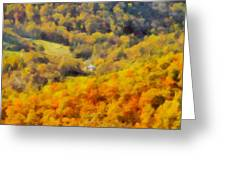 Autumn Colors In Shenandoah Greeting Card