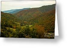 Autumn Comes To Appalachia  Greeting Card