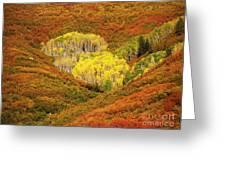 Autumn Crest Greeting Card
