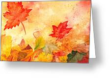 Autumn Dance Greeting Card