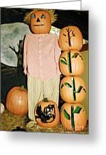 Autumn Decorations Greeting Card