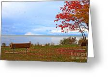 Autumn Greeting Card by Dipali S