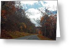 Autumn Drive2581 Greeting Card