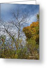 Autumn Ending Greeting Card