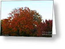 Autumn Eve Greeting Card