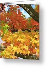 Autumn Extravaganza Greeting Card