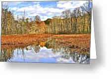 Autumn Fades Greeting Card