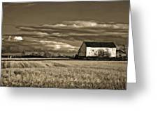 Autumn Farm II Greeting Card