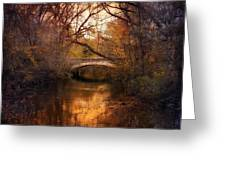 Autumn Finale Greeting Card