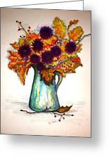 Autumn Foilage Greeting Card