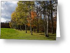 Autumn Forests And Fields Greeting Card