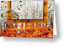 Autumn Gallery Greeting Card