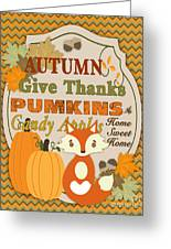 Autumn Gifts-a Greeting Card