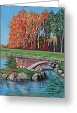 Autumn Glory At The Arboretum Greeting Card