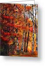 Autumn Glory I Greeting Card