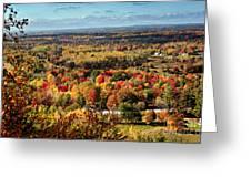 Autumn Glory Landscape Greeting Card