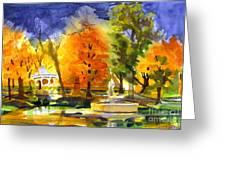 Autumn Gold 2 Greeting Card