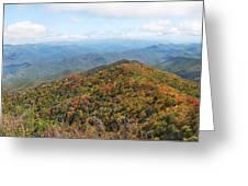 Autumn Great Smoky Mountains Greeting Card