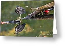 Autumn Green Greeting Card