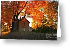 Autumn Haunt Greeting Card