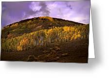 Autumn Hillside Greeting Card