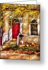 Autumn - House - A Hint Of Autumn  Greeting Card
