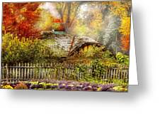 Autumn - House - On The Way To Grandma's House Greeting Card