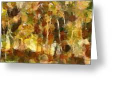 Autumn Impression 1 Greeting Card