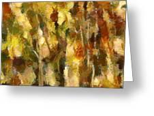 Autumn Impression 2 Greeting Card