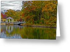 Autumn In Atlanta Greeting Card