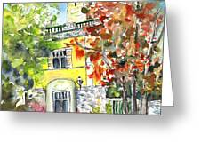 Autumn In Bergamo 02 Greeting Card