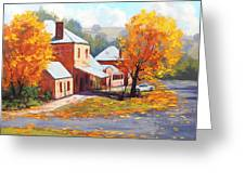Autumn In Carcor Greeting Card