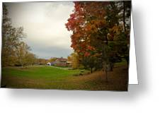 Autumn In Connecticut. Greeting Card