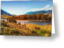 Autumn In Montana Greeting Card