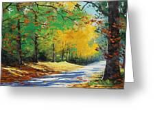 Autumn In Mt Wilson Greeting Card by Graham Gercken