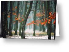 Autumn In My Soul Greeting Card