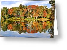 Autumn In Ohio Greeting Card